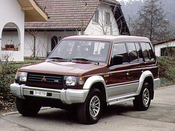 Inne rodzaje Mitsubishi Pajero Long Body 3.0 V6 GLSi (1992) review - AutoWeek.nl LL55