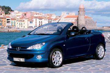 Peugeot 206 CC 1.6-16V Roland Garros (2003)