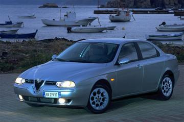 Alfa Romeo 156 2.5 V6 24V Distinctive (2003)