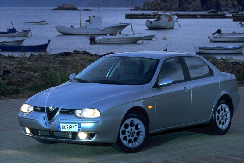 Alfa Romeo 156 2.5 V6 24V Distinctive (2003)