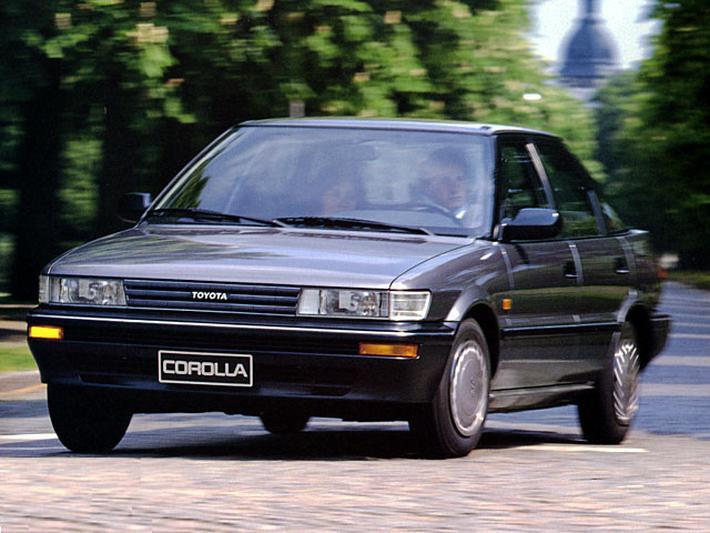 Toyota Corolla Liftback 1.6 XLi (1991)