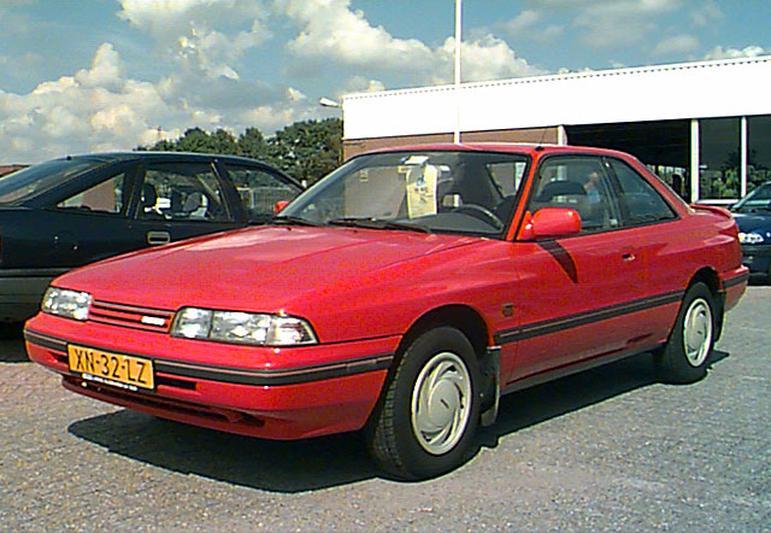 Mazda 626 Coupé 2.0-12V GLX (1990)