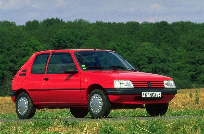 Peugeot 205 Génération 1.8 D (1997)