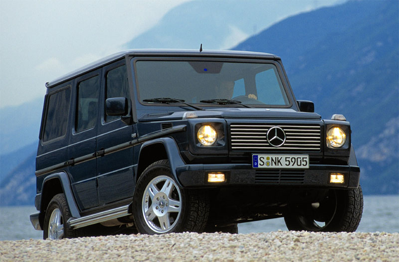 Mercedes-Benz G-klasse Stationwagon Lang