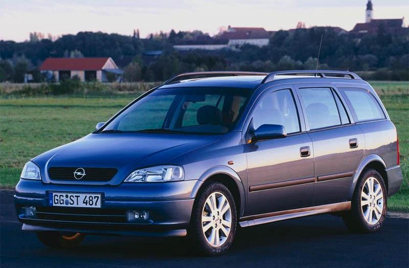 Opel Astra Stationwagon 1.7 DTi Pearl (2001)