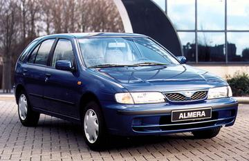 Nissan Almera 1.6 GX (2000)