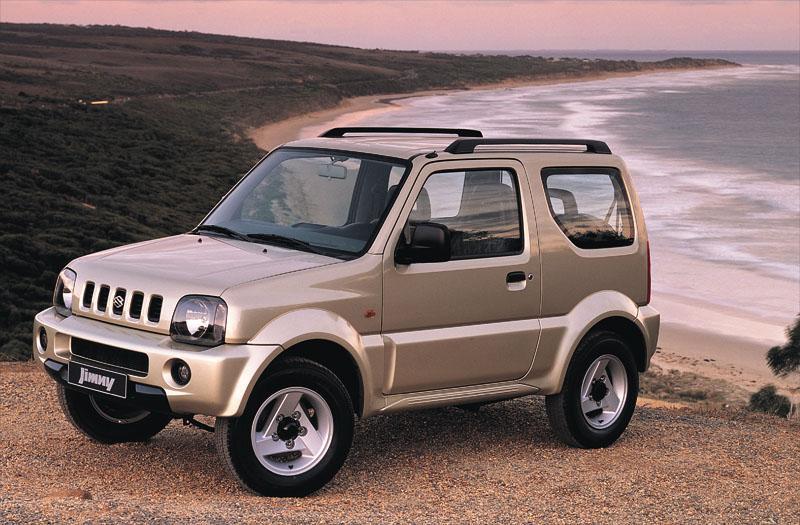 Suzuki Jimny 1 3 4WD JLX (2003) review - AutoWeek nl