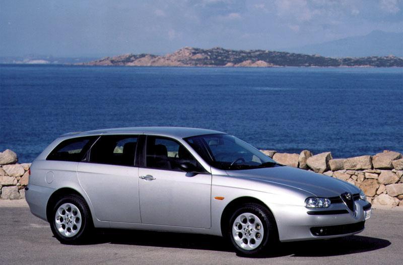 Alfa Romeo 156 Sportwagon 1.9 JTD Lusso (2001)