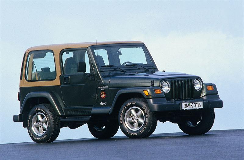 Jeep Wrangler 4.0i Hard Top Sahara (2000)