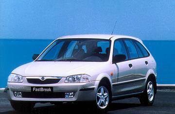 Mazda 323 FastBreak 1.5i GLX (2000)
