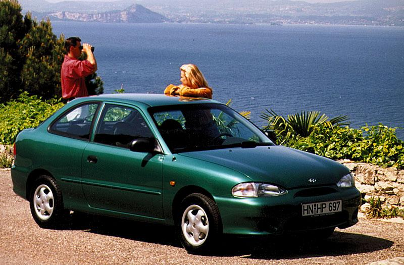 Hyundai Excel 1.3i SE (2000)
