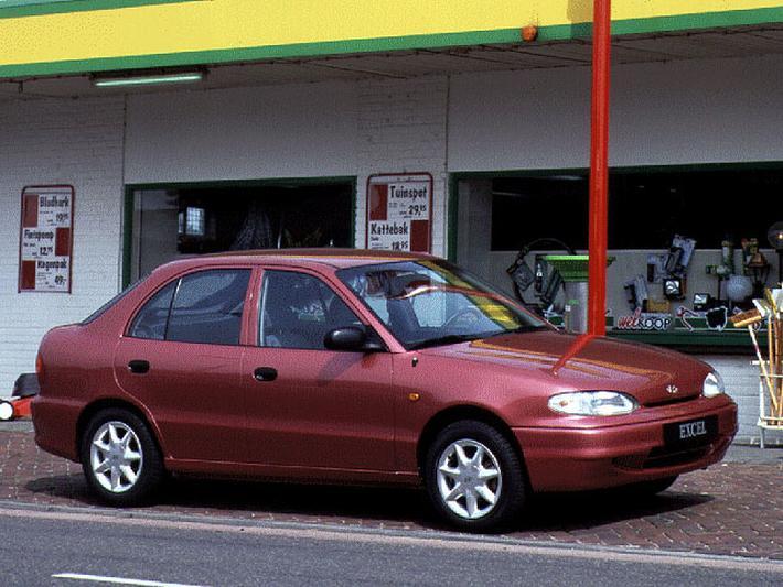 Hyundai Excel 1.3i GS (1995)