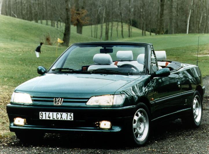 Peugeot 306 Cabriolet 1.8i (1994)