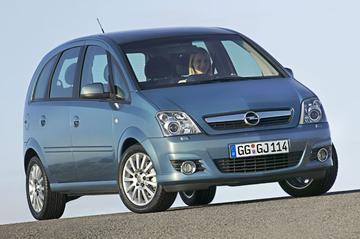 Opel Meriva 1.6-16V Cosmo (2006)
