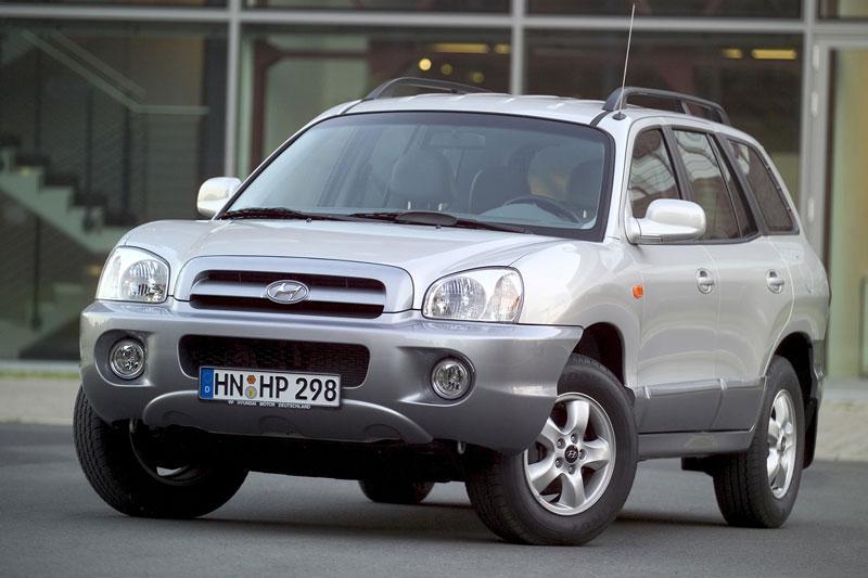Hyundai Santa Fe 2.0 CRDi 2WD ActiveVersion (2005)