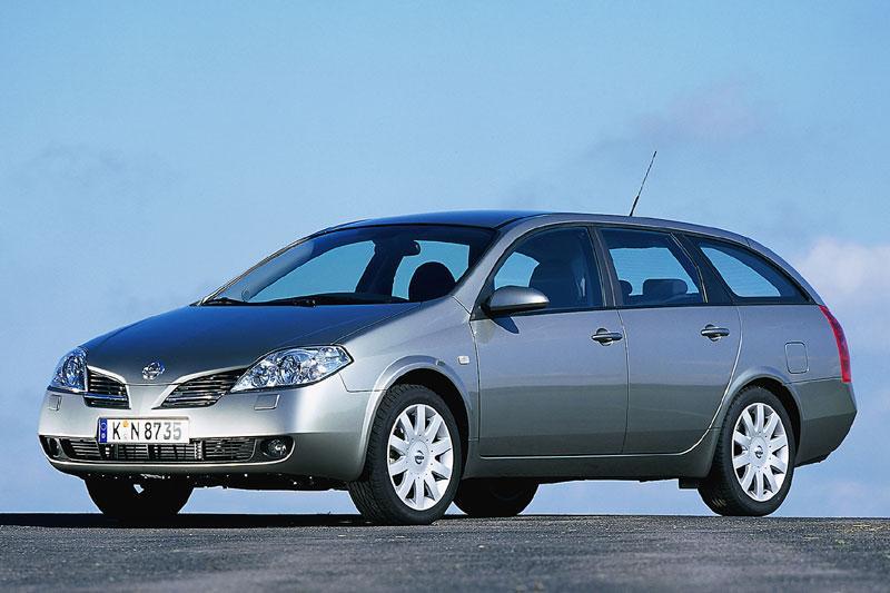 Nissan Primera Estate 1.8 Business Edition (2006)