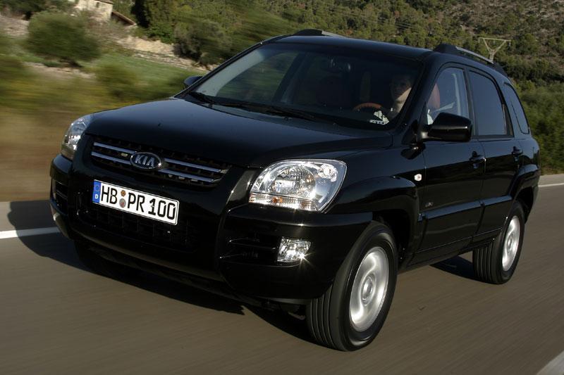 Kia Sportage 2.0 CVVT 2WD Executive (2005)