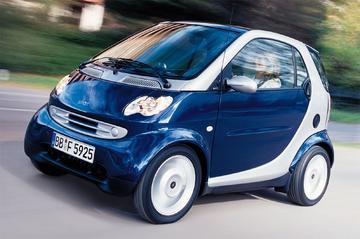 Smart city-coupé smart & pure 45pk (2002)