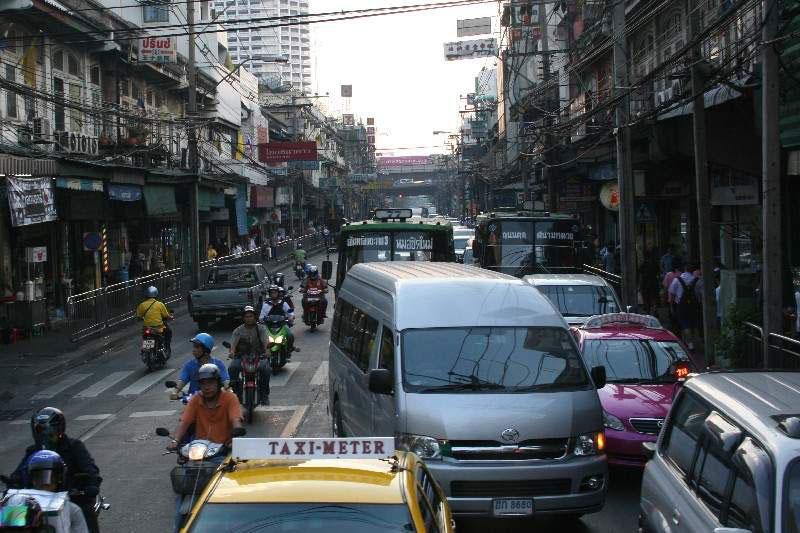 Verkeersbeeld Bangkok