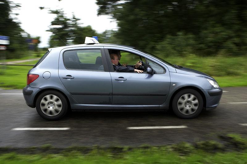 Klokje rond Peugeot 307