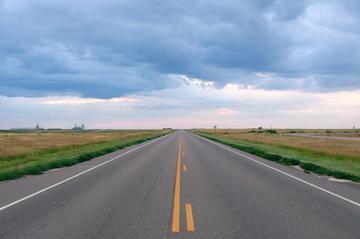 Road-trip dwars door Amerika