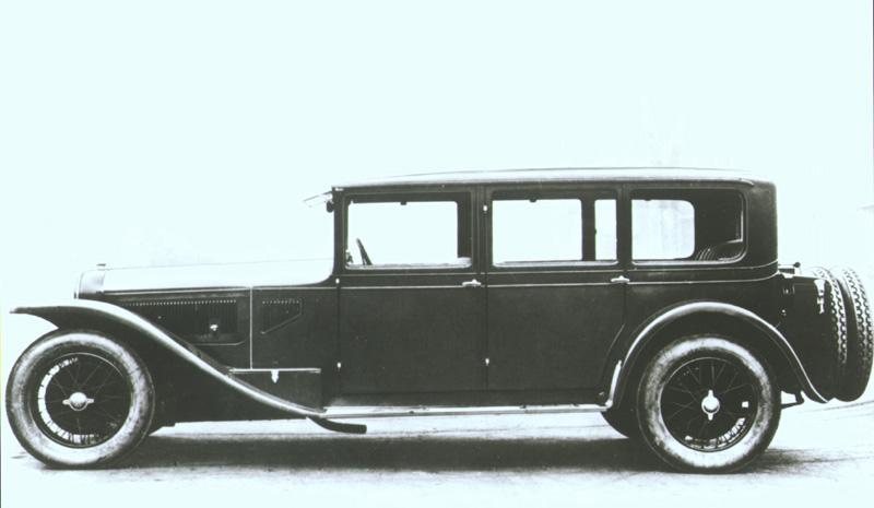Lancia Dilambda,  1928