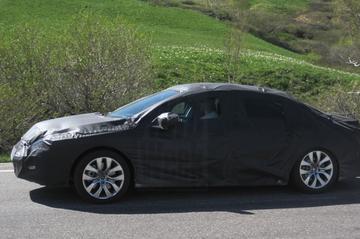 Terugblik: 'Eerste Peugeot 508 verschijnt op de weg'