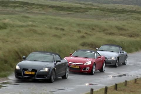 Roadster triotest op Sylt