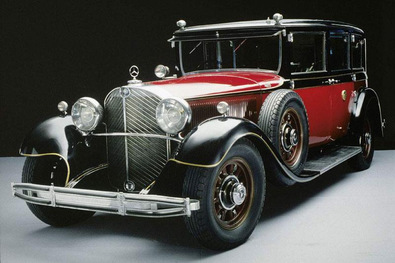 Hirohito's gepantserde Mercedes