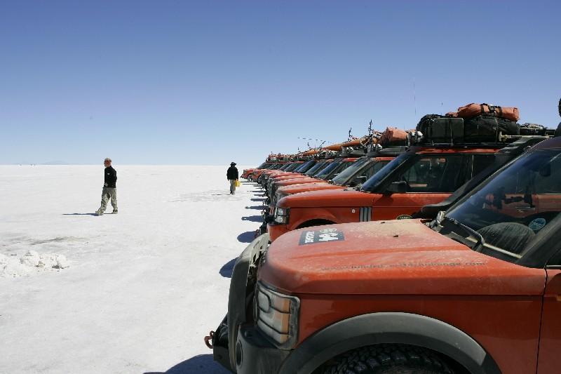 Salar de Uyuni, 's werelds grootste zoutvlakte