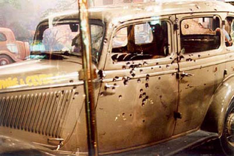 Bonnie & Clyde-auto