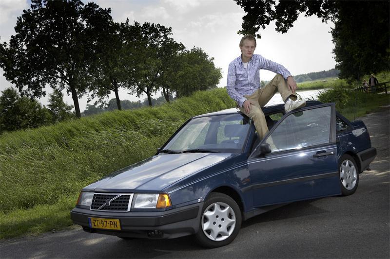 Klokje rond Volvo 440
