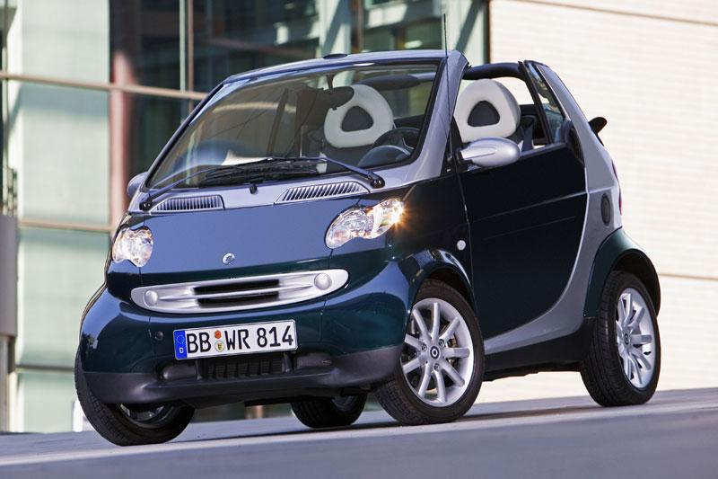Smart fortwo cabrio passion 45kW (2004)