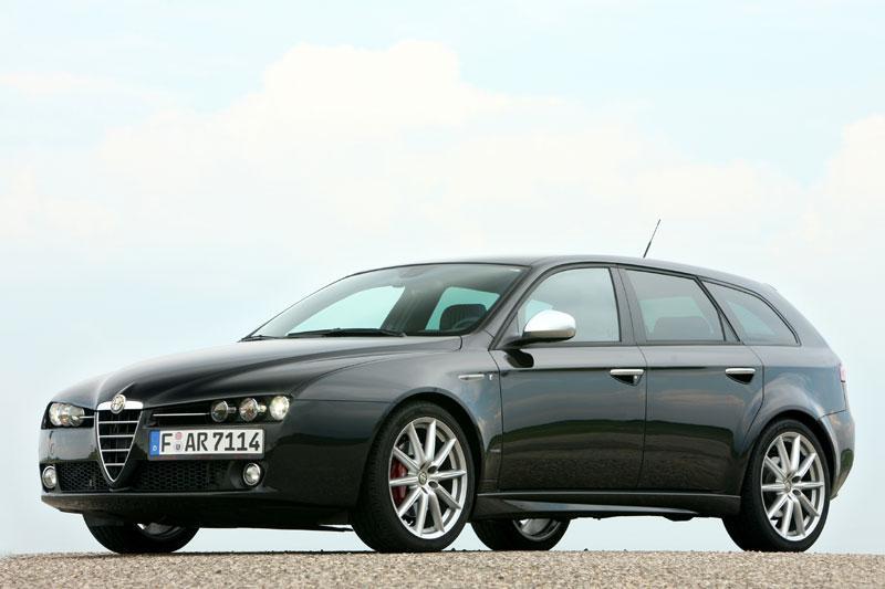 Alfa Romeo 159 Sportwagon 1.750 TBi Distinctive (2009)