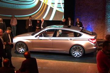 Onthulling BMW 5-serie GT