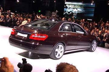 Sneak preview Mercedes E-klasse