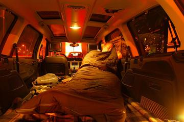 Een week leven in 'n Ford Galaxy