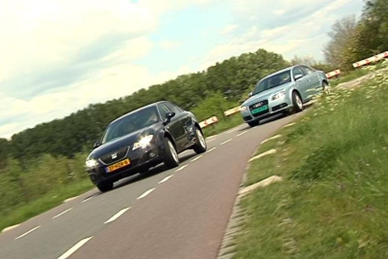 Seat Exeo vs Audi A4