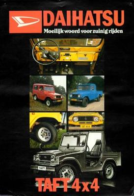 Daihatsu Taft Pick-up,diesel,hard Top,f 5055