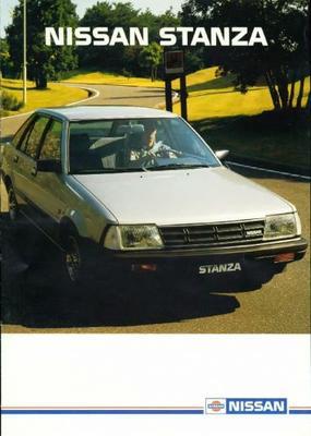 Nissan Stanza 1.6l,gl,1.8gl