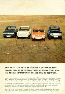 Audi Nsu Prinz,1000 C,1200,tt 1200,tts