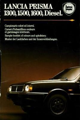 Lancia Prisma 1300,1500,1600,diesel