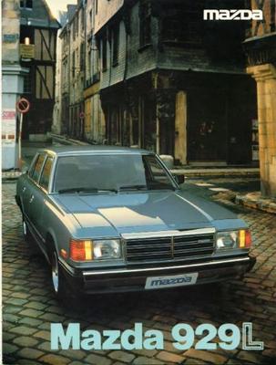 Mazda 929 Legato Hardtop,stationwagon