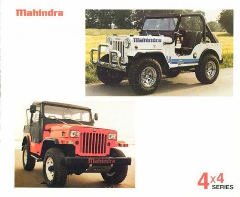 Mahindra 540 Lhd,340 Rhd,340 Lhd,340 Lhd