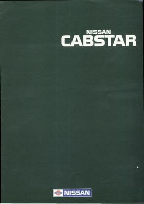Nissan Cabstar 2.0,2.5, Type A,combi 2000,open Laa