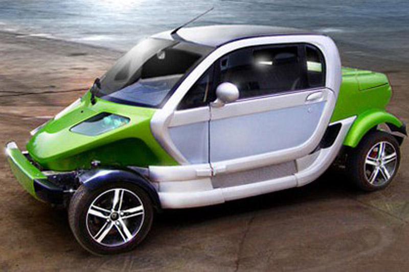 Global Green Cars: twee elektro-auto's