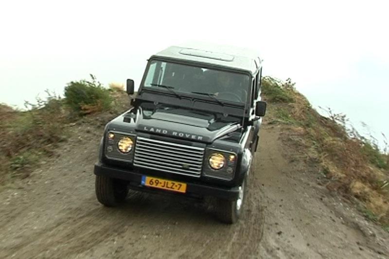 Rij-impressie Land Rover Defender