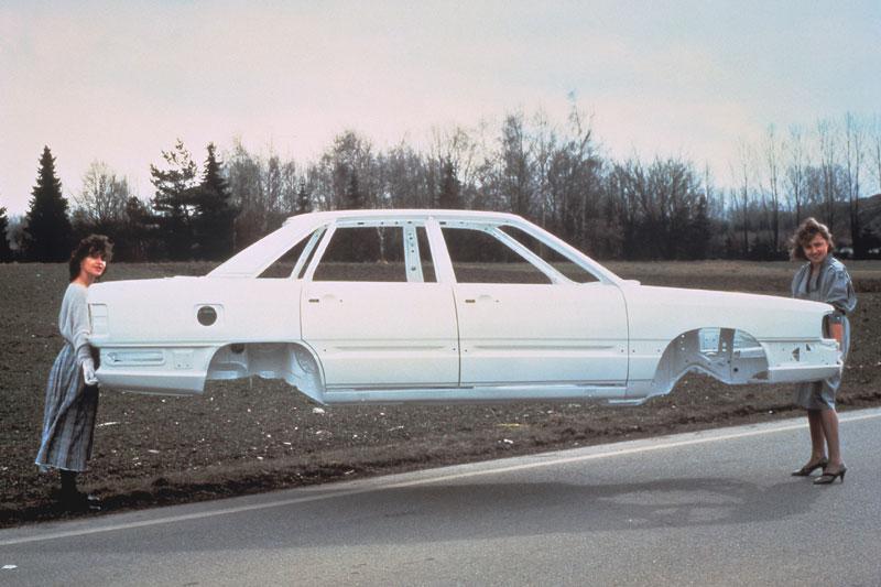 Prototype Space Frame-carrosserie - 1985