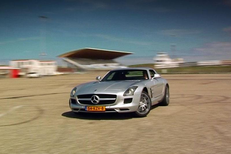 Rij-impressie Mercedes SLS AMG
