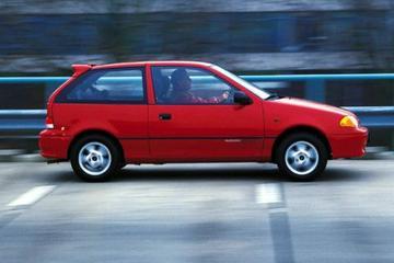 Subaru Justy 1.3 GXE AWD (1998)